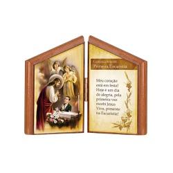 Oração de Mesa Eucaristia Masculino - 21925 - Betânia Loja Católica