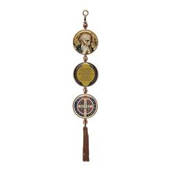 Adorno de Porta São Bento - Pequeno - 22850 - Betânia Loja Católica
