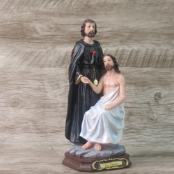 Imagem em Resina - São Camilo 20 cm - 26044 - Betânia Loja Católica