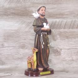 Imagem em Resina - São Francisco Assis 20 cm - 172... - Betânia Loja Católica