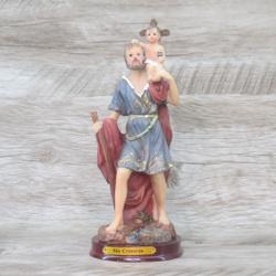 Imagem Resina - São Cristóvão 20 cm - 13758 - Betânia Loja Católica