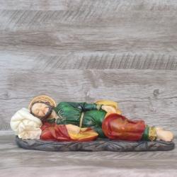 Imagem em resina - São José Dormindo - 30 cm - 217... - Betânia Loja Católica