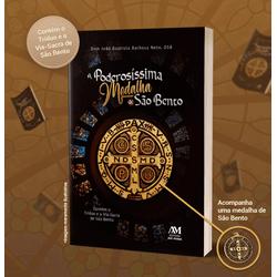 Livro: A poderosíssima medalha de São Bento - Cont... - Betânia Loja Católica