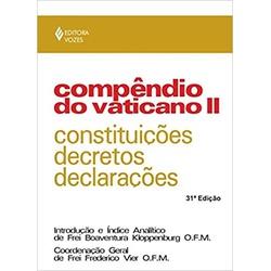 Livro : Compêndio do Vaticano II: Constituições, d... - Betânia Loja Católica