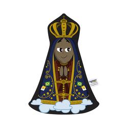 Naninha Travesseirinho Boneco Mãezinha Aparecida -... - Betânia Loja Católica