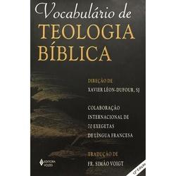 Livro Vocabulário de Teologia Bíblica - 739 - Betânia Loja Católica