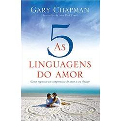 Livro - As cinco linguagens do amor - Como express... - Betânia Loja Católica
