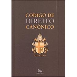 Livro : Código de direito canônico -Papa Joao Pau... - Betânia Loja Católica