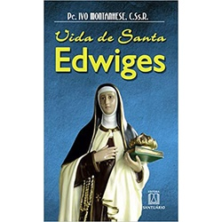 Livro Vida de Santa Edwiges - 1791 - Betânia Loja Católica