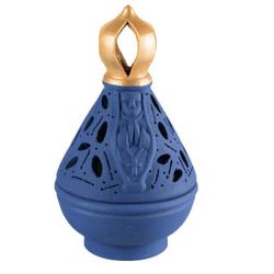 Incensário N. Sra. Aparecida - Manto azul - 17 cm ... - Betânia Loja Católica