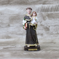 Imagem Resina - Santo Antônio 15 cm - 12947 - Betânia Loja Católica