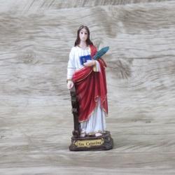 Imagem Durata - Santa Catarina 12 cm - 23052 - Betânia Loja Católica