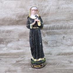 Imagem em resina - Santa Rita de Cássia 30 cm - 26... - Betânia Loja Católica