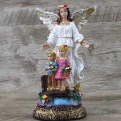 Imagem Resina - Anjo da Guarda 15 cm - 26666 - Betânia Loja Católica