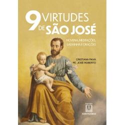 Livro : 9 Virtudes de São José - 27043 - Betânia Loja Católica
