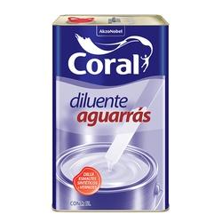 CORAL AGUARRAS INCOLOR 5L - Biadola Tintas