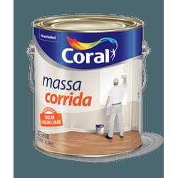 CORAL MASSA CORRIDA BRANCO 6KG - Biadola Tintas