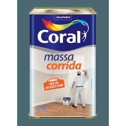CORAL MASSA CORRIDA BRANCO 25KG - Biadola Tintas