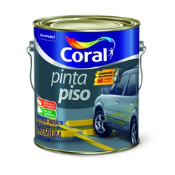 CORAL PINTA PISO CINZA ESCURO 3,6L - Biadola Tintas