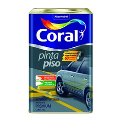 CORAL PINTA PISO CONCRETO 18L - Biadola Tintas