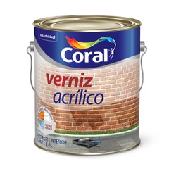 CORAL VERNIZ ACRILICO INCOLOR 3,6L - Biadola Tintas