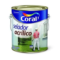 CORAL SELADOR ACRILICO BRANCO 3,6L - Biadola Tintas