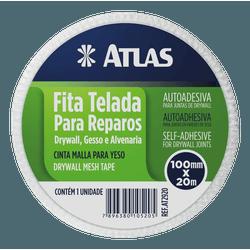 ATLAS FITA TELADA REPARO 100MMX20M REF. AT2920 - Biadola Tintas