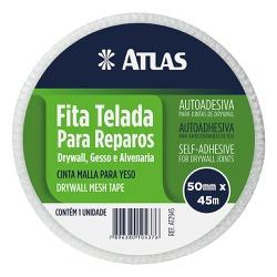 ATLAS FITA TELADA REPARO 50MMX45M REF. AT2945 - Biadola Tintas