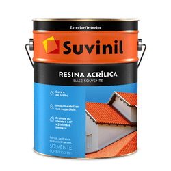 SUVINIL RESINA ACRILICA BASE SOLVENTE 18L - Biadola Tintas