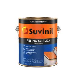 SUVINIL RESINA ACRILICA BASE AGUA 3,6L - Biadola Tintas