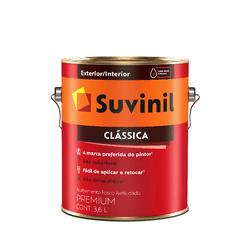 SUVINIL CLÁSSICA PREMIUM BRANCO 3,6L - Biadola Tintas