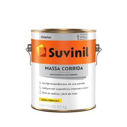 SUVINIL MASSA CORRIDA PVA 3,6L - Biadola Tintas