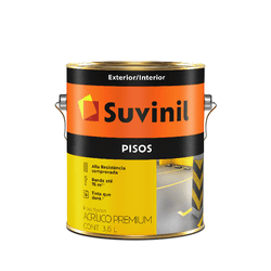 SUVINIL PISO CONCRETO 3,6L - Biadola Tintas
