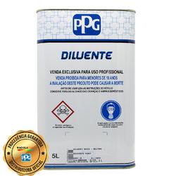 PPG D807 THINNER MEDIO 5L - Biadola Tintas