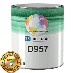 DELTRON D957 BC GREEN PEARL 1L - Biadola Tintas