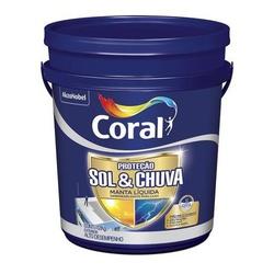 CORAL PROTECAO SOL & CHUVA MANTA LIQUIDA 12KG - Biadola Tintas