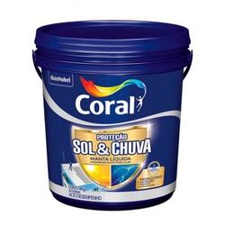 CORAL PROTECAO SOL & CHUVA MANTA LIQUIDA 4KG - Biadola Tintas