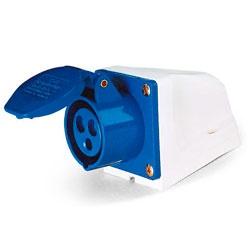 Tomada Sobrepor Lukma 2P+T 32A 220-240V 6H Azul - Bignotto Ferramentas