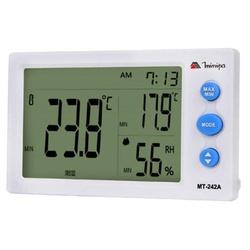 Relógio Termo-Higrômetro com Sensor Externo Minipa... - Bignotto Ferramentas