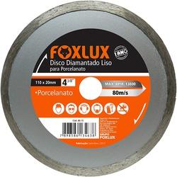 """Disco Diamantado Liso Foxlux 4 3/8"""" 110 x 20mm - Bignotto Ferramentas"""