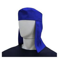 Touca de Soldador Azul Carbografite - Bignotto Ferramentas