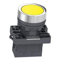 Botão 22mm Plástico Pulsador Amarelo 1NA XA2EA51 S... - Bignotto Ferramentas