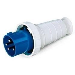 Plug Lukma 3P+T 63A 220-240V 9H Azul - Bignotto Ferramentas