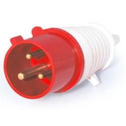Plug Lukma 2P+T 32A 380-415V 9H Vermelho - Bignotto Ferramentas
