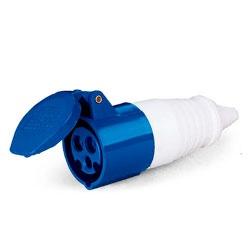 Acoplamento Lukma 2P+T 16A 220-240V 6H Azul - Bignotto Ferramentas