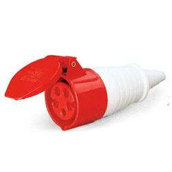 Acoplamento Lukma 3P+T+N 32A 380-415V 6H Vermelho - Bignotto Ferramentas