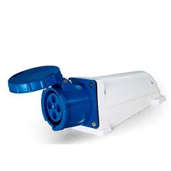 Tomada Sobrepor Lukma 3P+T 63A 220-240v 9h Azul - Bignotto Ferramentas