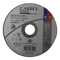 Disco de Corte Carbo Force Silver 115 x 1,0 x 22,2... - Bignotto Ferramentas