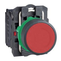Botão 22mm Plástico Pulsador Vermelho 1NA XB5AA42 ... - Bignotto Ferramentas