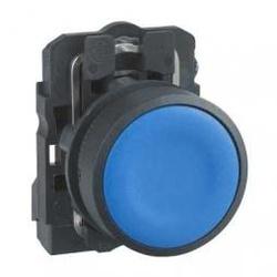 Botão 22mm Plástico Pulsador Azul 1NA XB5AA61 Schn... - Bignotto Ferramentas